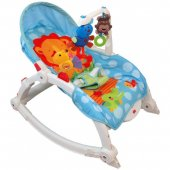 Balansoar cu Vibratii 2 in 1 Happy Baby - Jungle Party