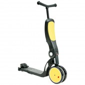 Bicicleta, tricicleta si trotineta Pentru Copii  All Ride 4 in 1 yellow