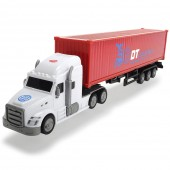 Camion Dickie Toys Road Truck DT Logistics