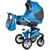Carucior 3 in 1 Vessanti Flamingo Easy Drive  - Blue