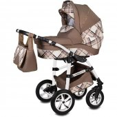 Carucior 3 in 1 Vessanti Flamingo Easy Drive  - Brown