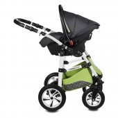 Carucior 3 in 1 Vessanti Flamingo Easy Drive Green