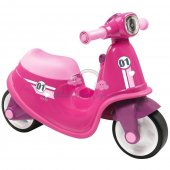 Scuter Pentru Copii Smoby Scooter Ride-On pink