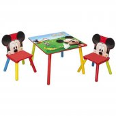 Set 2 Scaunele si Masuta Happy Children - Disney Mickey Mouse