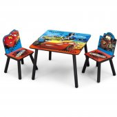 Set 2 Scaunele si Masuta Happy Children - Lightning McQueen